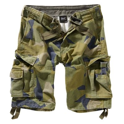 Short pants SURPLUS Vintage SWEDISH CAMO