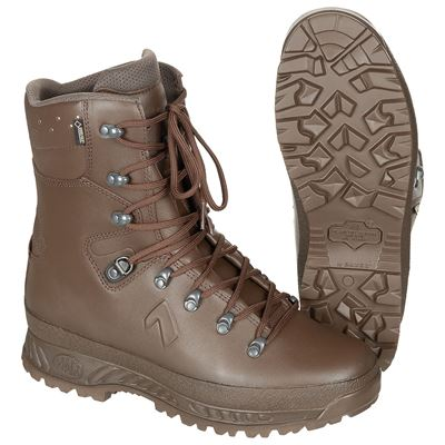 Boots BRITISH Cold Wet Weather BROWN