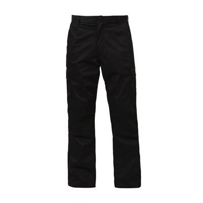 Pants BDU ZIPPER FLY RELAXED BLACK