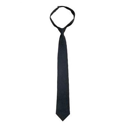 Tie POLICE BLACK VELCRO 50 cm