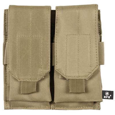 Pouch MOLLE Double M4/M16 COYOTE BROWN