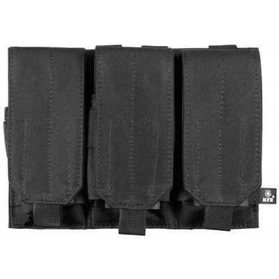 Triple MOLLE pouch M4/M16 BLACK
