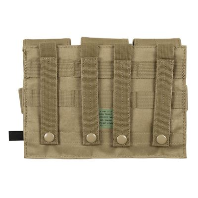 MOLLE Pouch for M4/M16 Triple COYOTE BROWN