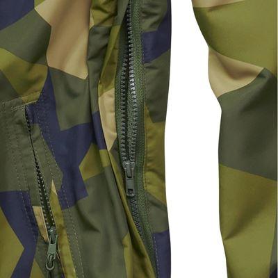 Summer Windbreaker Jacket swedish camo M90