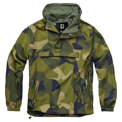 Summer Windbreaker Jacket swedish camo M90