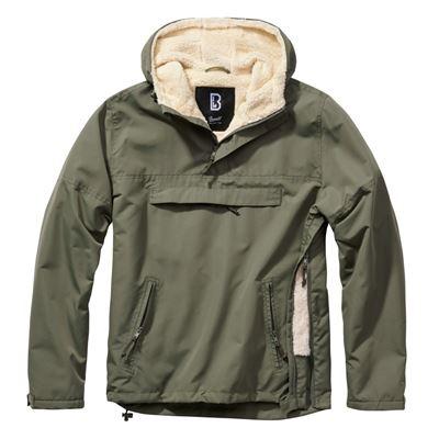 Jacket WINDBREAKER SHERPA OLIVE