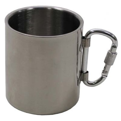 Double-skin stainless steel mug 300 ml