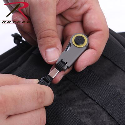 Zipper Pull Folding Knife