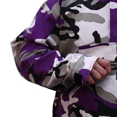 Jacket ANORAK PARKA US VIOLET CAMO