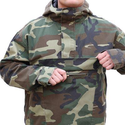 Jacket ANORAK PARKA US WOODLAND