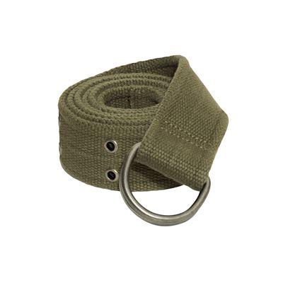 Women's Belt VINTAGE D-RING OLIVE