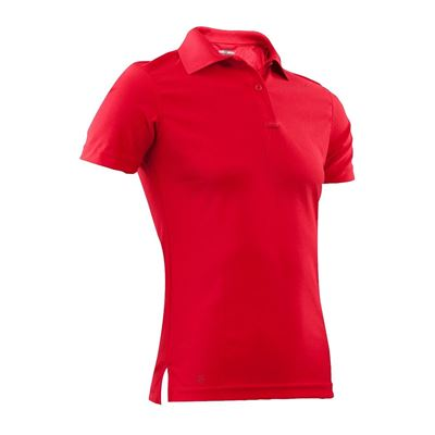 Women's Polo 24-7 short sleeve PERFORMANCE RED