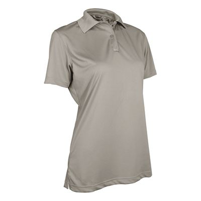 Women's Polo 24-7 short sleeve PERFORMANCE SILVER TAN
