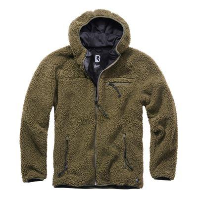 Teddyfleece Worker Jacket OLIVE