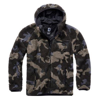 Teddyfleece Worker Jacket DARK CAMO