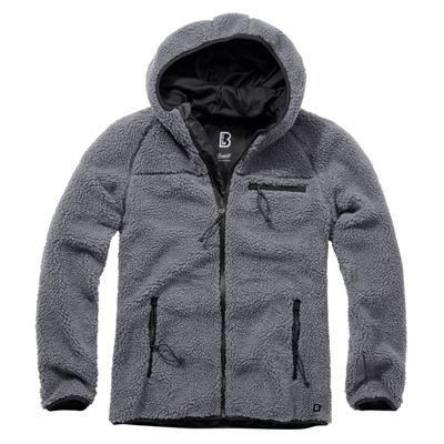 Teddyfleece Worker Jacket ANTHRACITE