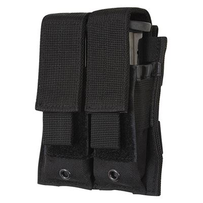 MOLLE pouch for two magazines BLACK
