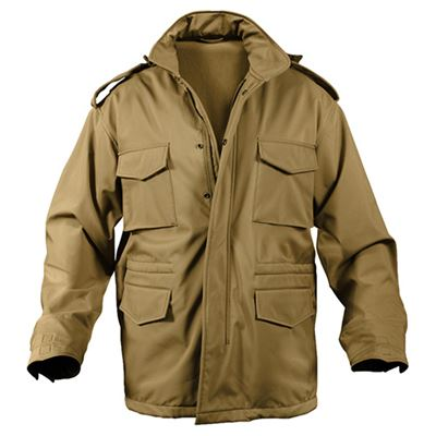 Jacket U.S. M65 SOFT SHELL COYOTE