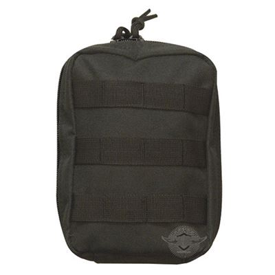 First-aid kit in pouch BLACK