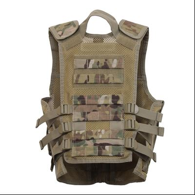 Children tactical vest MULTICAM