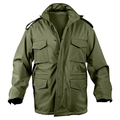 Jacket U.S. M65 SOFT SHELL OLIV DRAB