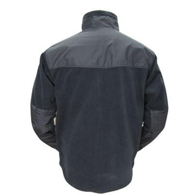 MICRO FLEECE jacket BLACK