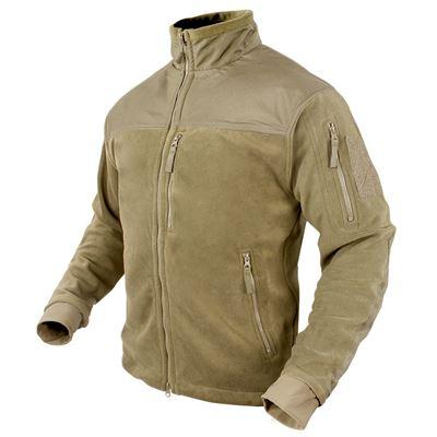 Micro fleece jacket COYOTE