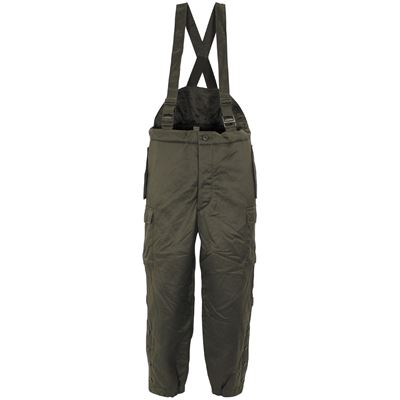 Austria thermo trousers on braces OLIVE