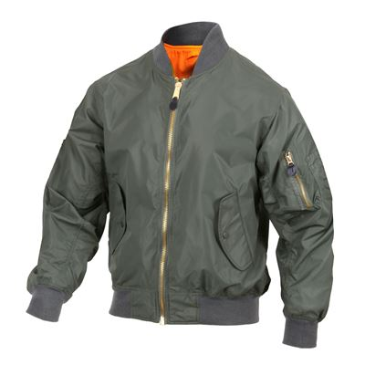 Jacket MA1 FLIGHT NAVY SAGE GREEN