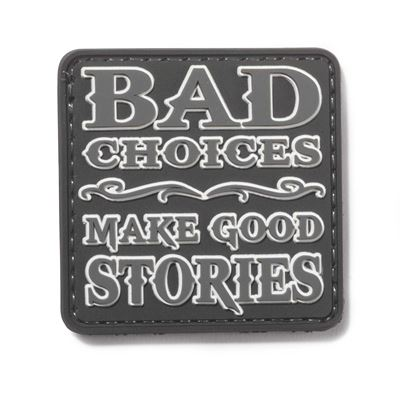 BAD CHOICES Velcro Patch