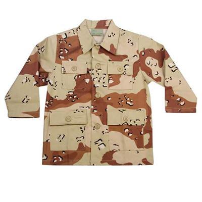Children Shirt U.S. BDU type 6-COL DESERT