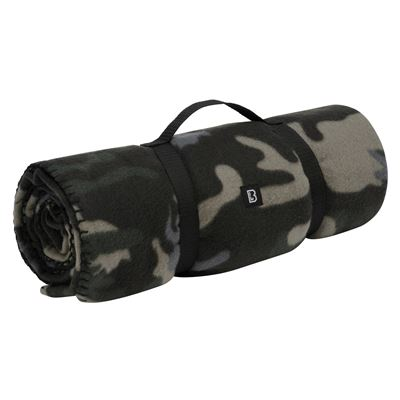 Fleece Blanket DARK CAMO