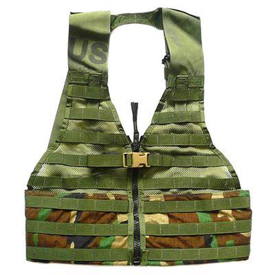 U.S. tactical vest MOLLE II FLC WOODLAND