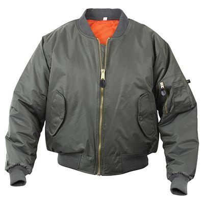 Jacket ULTRA FORCE MA1 FLIGHT SAGE