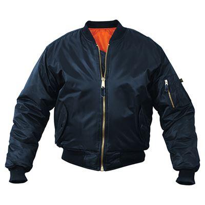 Jacket ULTRA FORCE MA1 FLIGHT BLUE
