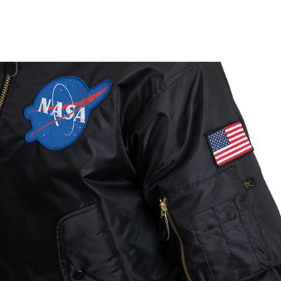 Jacket NASA MA-1 Flight BLACK