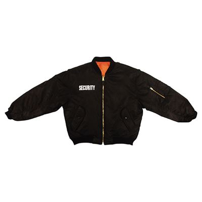 Jacket MA1 FLIGHT SECURITY BLACK