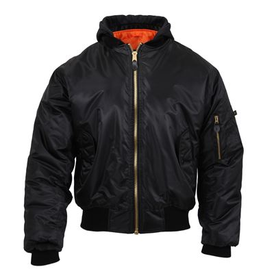 Jacket ULTRA FORCE MA1 FLIGHT BLACK