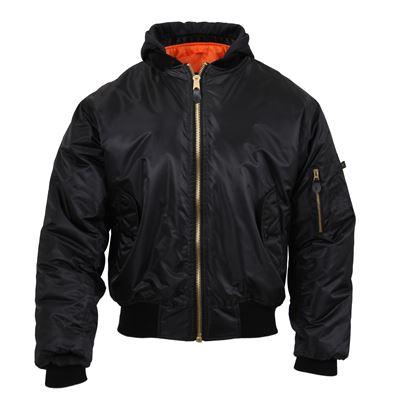Jacket ULTRA FORCE MA1 FLIGHT BLACK
