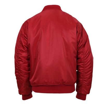 Jacket ULTRA FORCE MA1 FLIGHT RED