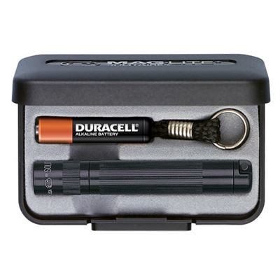 Flashlight MAGLITE SOLITAIRE gift pack BLACK