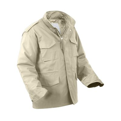 U.S. M65 jacket with liner KHAKI