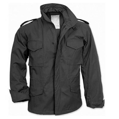 U.S. M65 jacket with liner BLACK