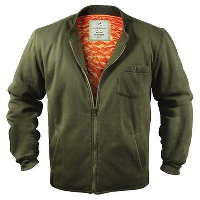 FLYERS INTERMEDIATE Fleece Jacket OLIVE