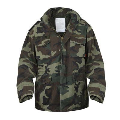 Jacket U.S. M65 VINTAGE WOODLAND