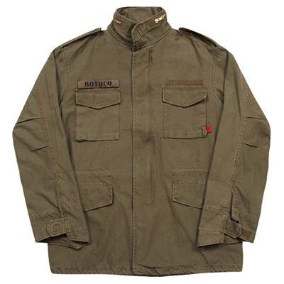 Jacket U.S. M65 VINTAGE BROWN Russett