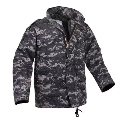 M-65 URBAN DIGITAL jacket with the liner