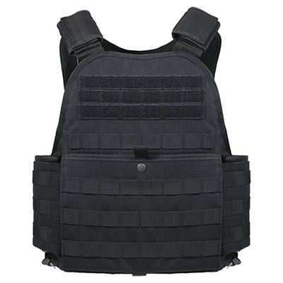 MOLLE carrier plates BLACK