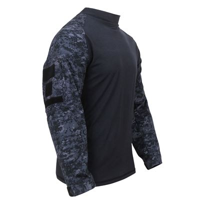 Tactical Combat Shirt MIDNIGHT DIGITAL