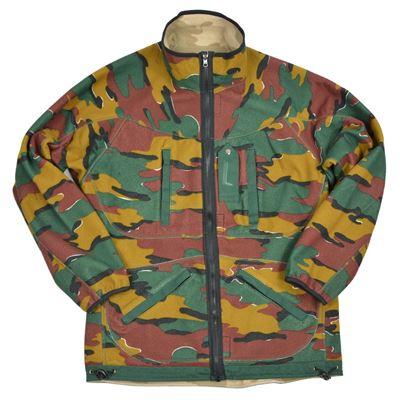 Belgian reversible fleece jacket used